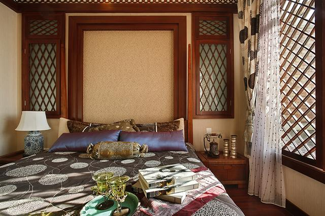 豪华东南亚风格别墅装修 色彩明亮且温馨大气的家居