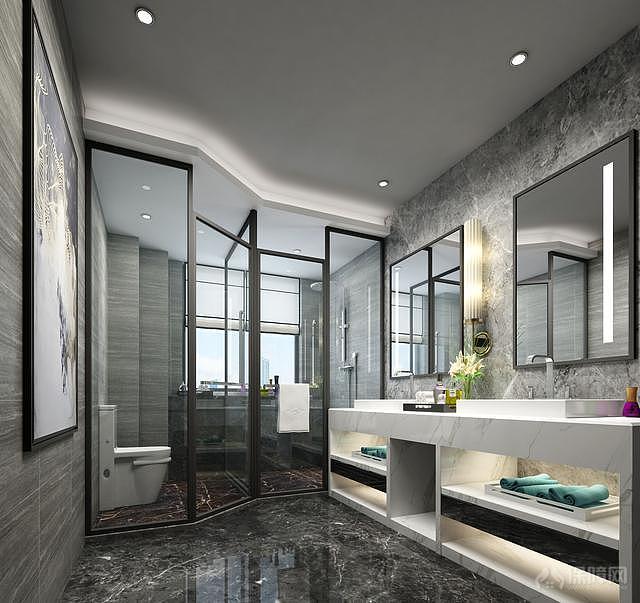 后现代风格装修效果图 高端家居的选择