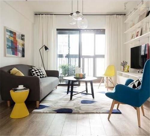 20平方客厅装修效果图 小客厅个性装饰提升温馨感