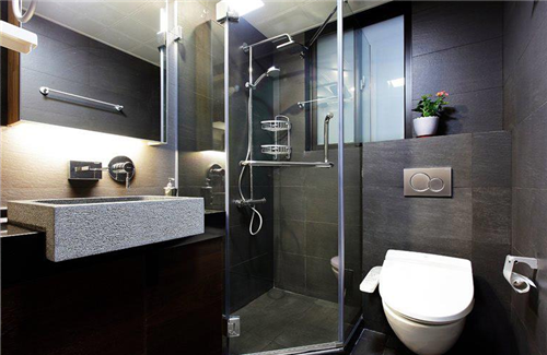 小户型厕所装修效果图 超有个性的小卫生间装修设计