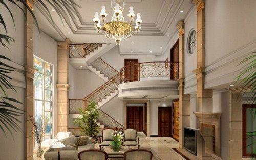 客厅楼梯装修效果图 创意楼梯造型给客厅加分