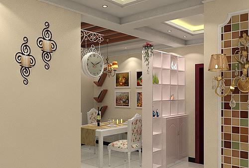 餐厅鞋柜装修效果图 4款超炫的餐厅鞋柜图片