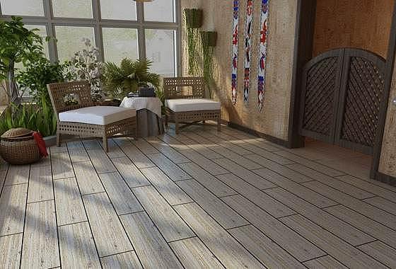 阳台木地板装修步骤 阳台木地板效果图欣赏