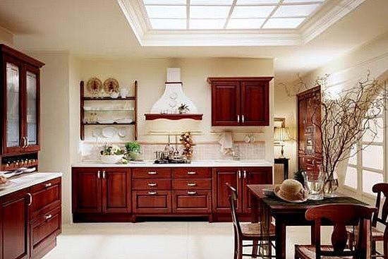 中式风格厨房装修效果图 体验中式风意蕴绵长