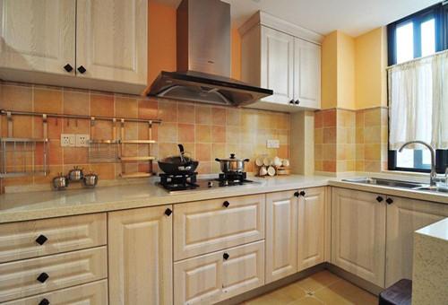 小户型美式装修效果图之厨房