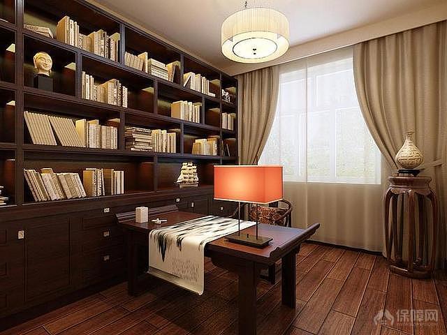 家庭书房装修事项与书房风水禁忌有哪些需注意图片