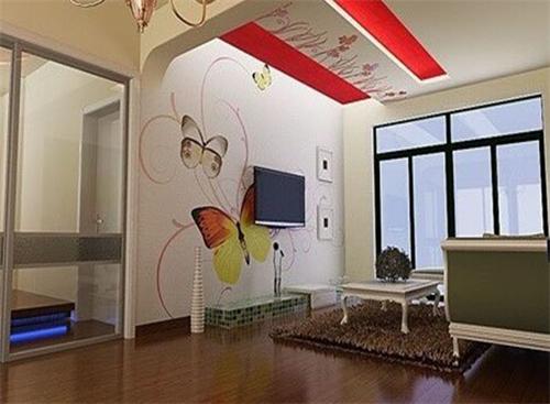 小客厅电视墙效果图 小客厅电视墙也精彩_装修保障网