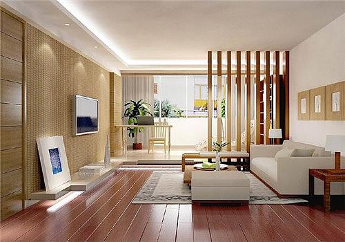 客厅改书房装修图片欣赏 客厅书房一体化装修案例