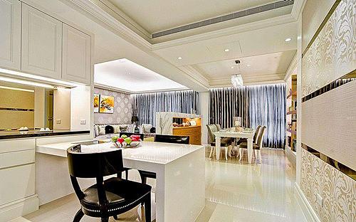 三室一厅室内装修图 打造简约时尚美居