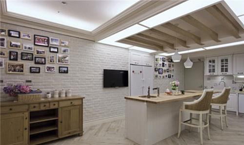 敞开厨房装修效果图 敞开厨房瞬间提升家居生活品味
