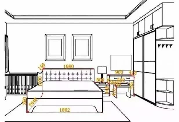 卧室内部简笔画
