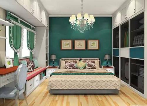 卧房装修效果图 10平卧室装修要不要这么美图片