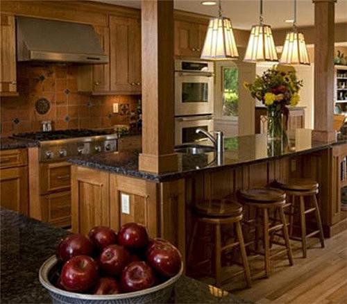 开放式厨房装修效果图欣赏 让您一眼就爱上的厨房