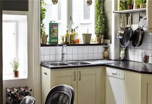 厨房简装效果图 精致厨房装修让生活更出彩