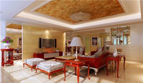 欧式红木家具效果图 欧式红木家具尽显高贵大气