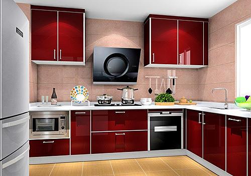 厨房装修效果图 灰常漂亮的设计