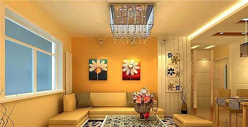 客厅装修墙纸配色秘诀 客厅装修墙纸风格选择