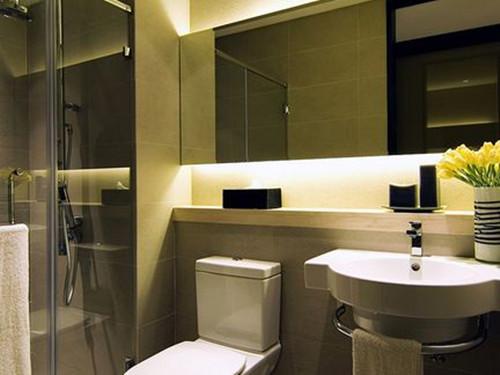 小户型洗手间装修效果图 小户型里的大空间