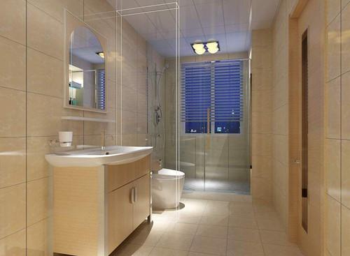 卫生间装修      小户型洗手间空间都比较小,在装修设计时,要考虑好