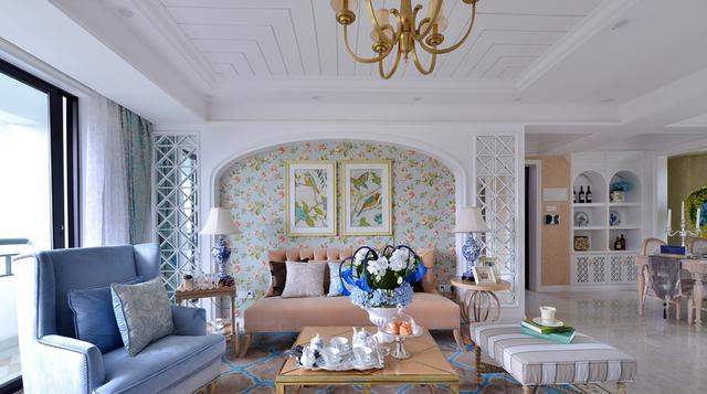 淡雅舒适的生活情调,最终设计风格定为英式田园风格为主调,又带点小