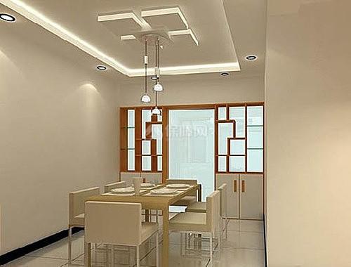 高质感的柜子和玻璃滤镜般的效果可以把餐边柜自身变成装饰品.