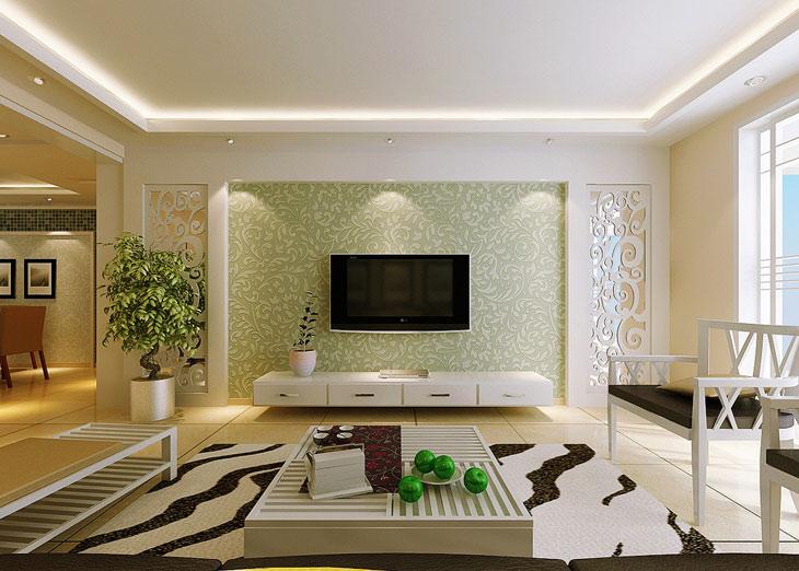 硅藻泥是什么 硅藻泥电视背景墙效果图