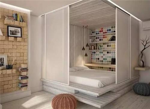 小户型单身公寓装修实景图 45平单身公寓魅力家装