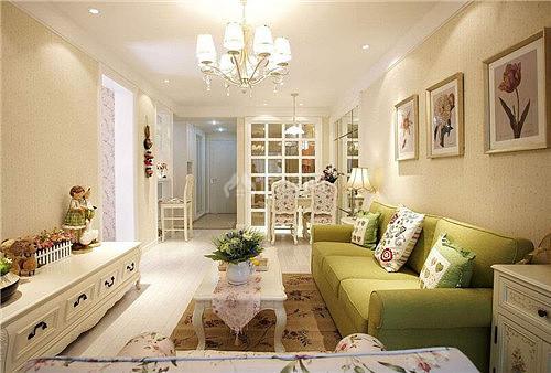 客厅装修实景图大全 时尚客厅装修五大技巧
