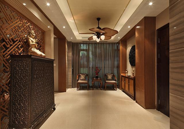 170平大户型东南亚风格家装 别有一番韵味!