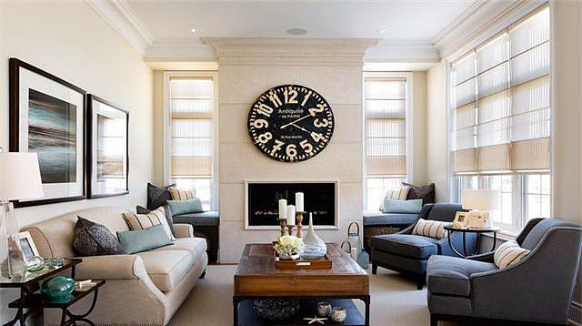 简欧式客厅装修效果图 住宅别墅装修的最爱!