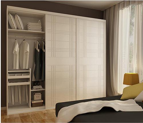 定做大衣柜效果图 打造独特的卧室衣柜