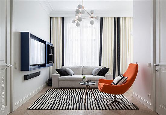 创意44平米的现代简约公寓装修案例
