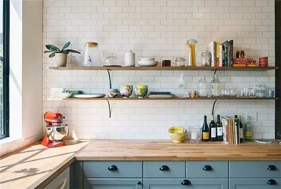 这样的厨房装修设计 柴米油盐也可以诗和远方~