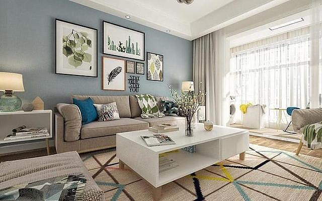 客厅做好软装搭配 就能让颜值爆表