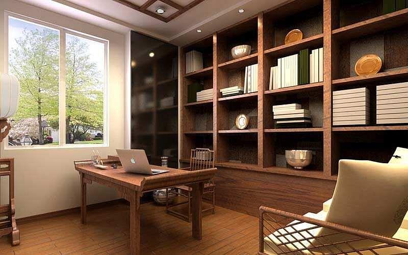 8平米书房装修多少钱?装修书房如何设计?