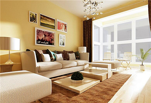 简约客厅装修效果图 让客厅装修简约而不简单