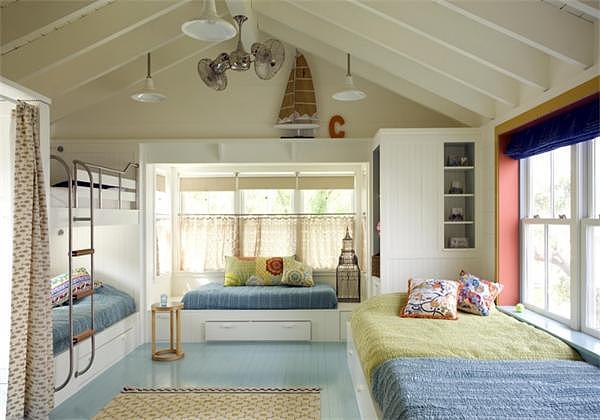 儿童房装修更需要创意 儿童房天花板设计案例分享