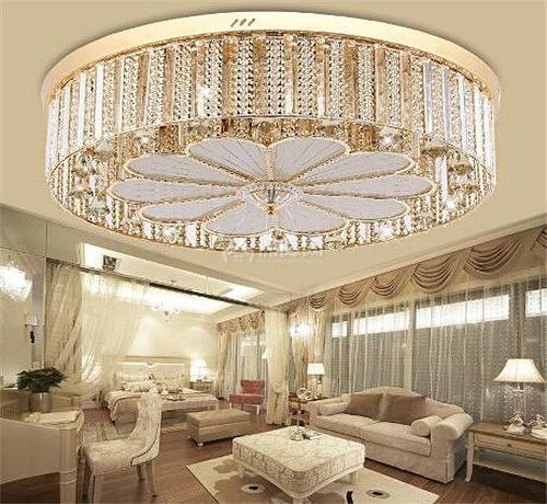 客厅水晶灯风水