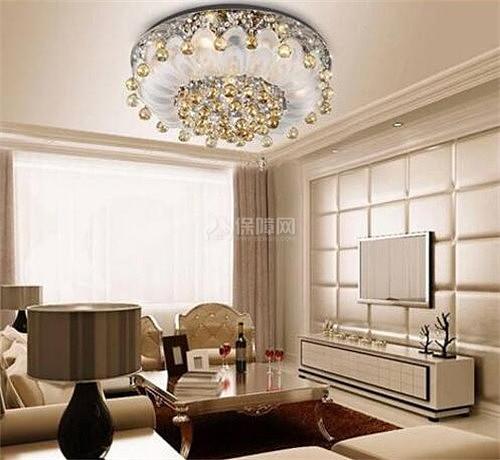 客厅灯风水_客厅用什么水晶灯风水好,最新客厅水晶灯的图片.-