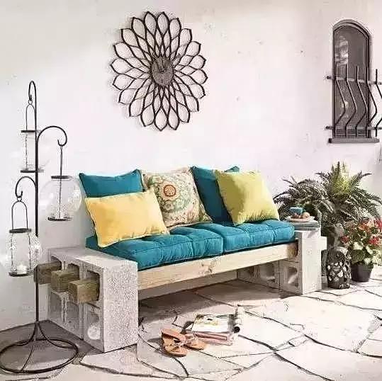 几块空心砖 竟然把家装饰得这么美!