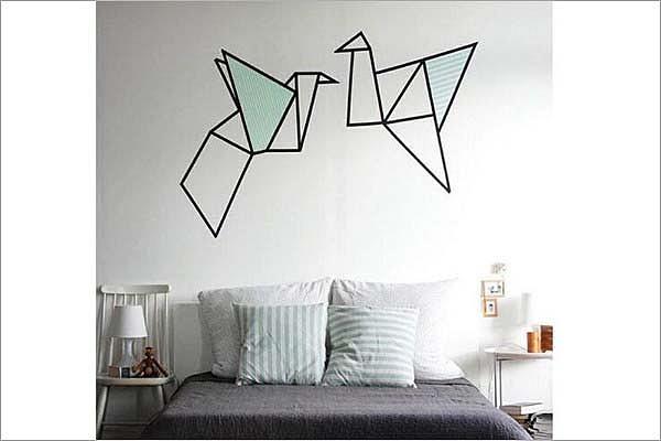 手工DIY背景墙 客厅沙发背景墙装饰自己动手
