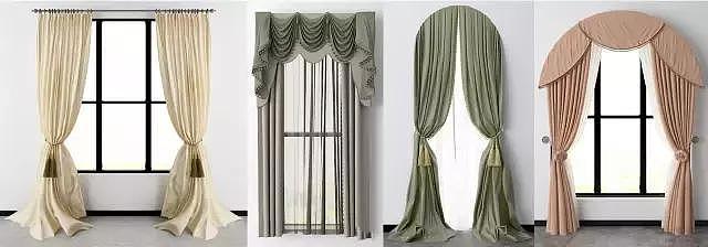见过的最全窗幔安装方法 包含各类型值得收藏