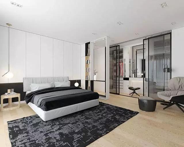 卧室装修这样做隔断 再小的家也能拥有衣帽间