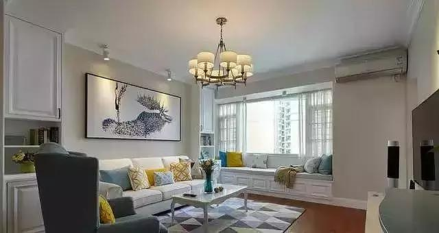 118平温馨美式三居室 简约舒适太美了