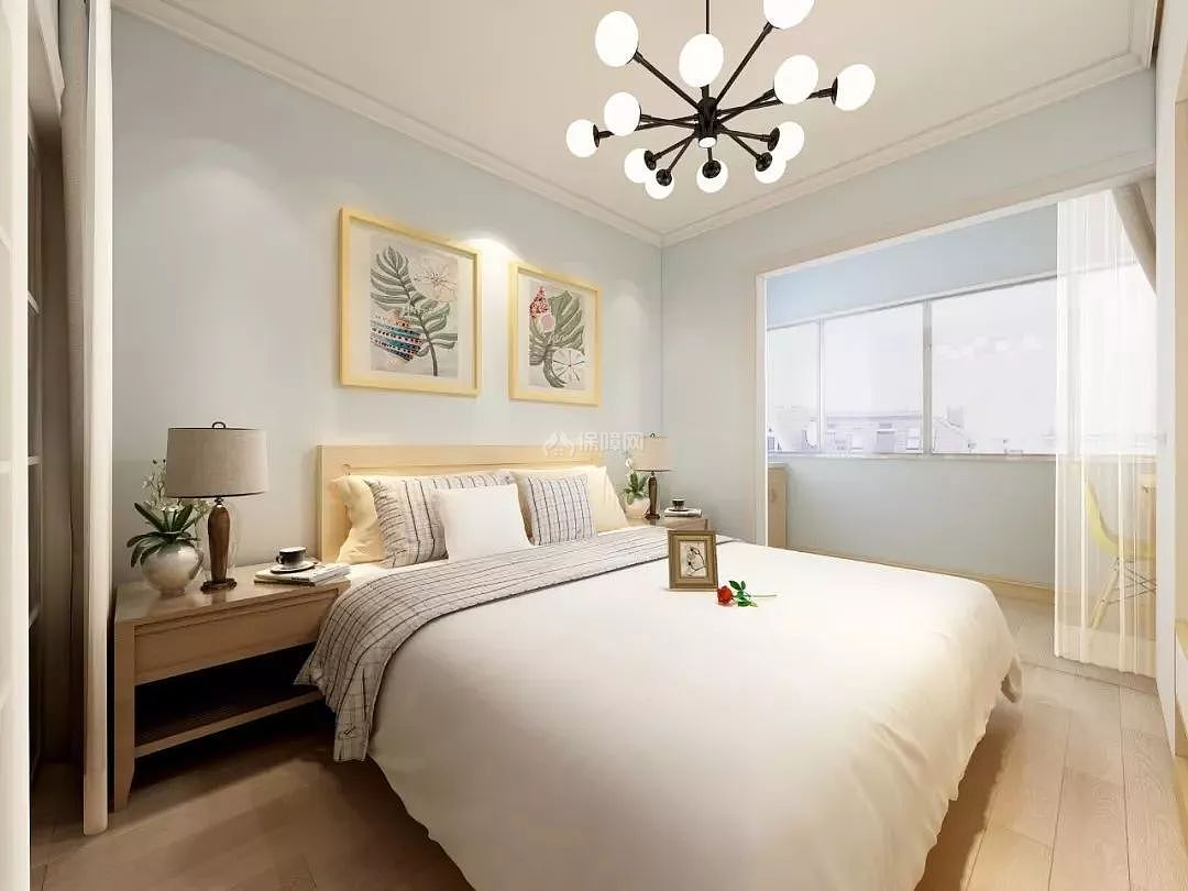 背景墙 房间 家居 起居室 设计 卧室 卧室装修 现代 装修 1080_810