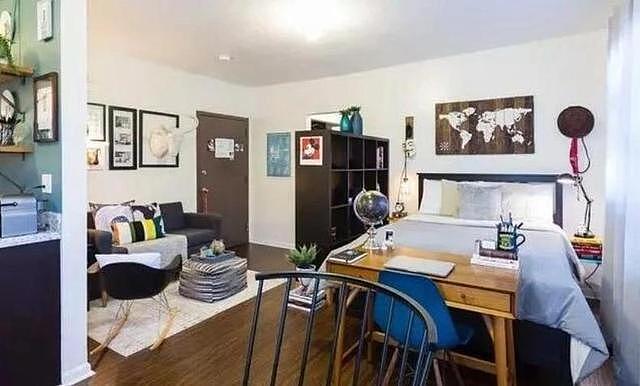 35平开放式公寓 美观不误实用