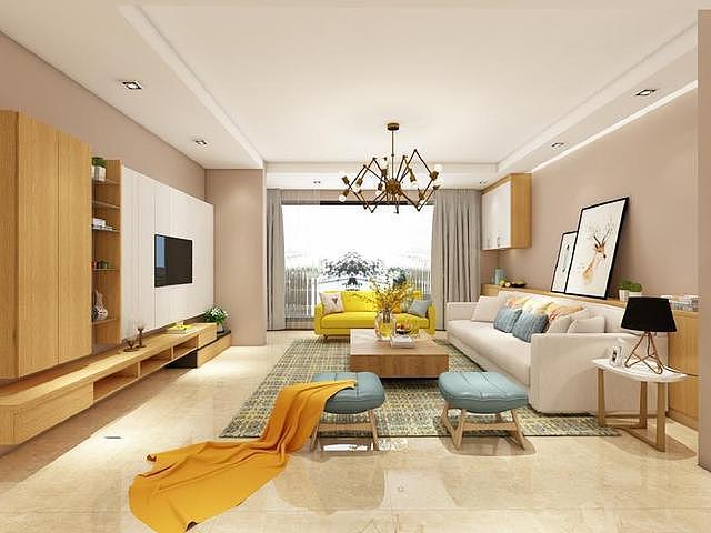 非常时尚漂亮的新房装修设计 文艺范十足的家居方式
