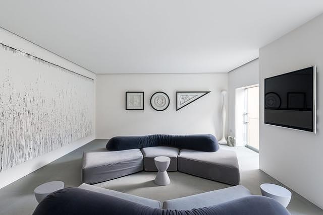白色极简住宅装修效果图 摩登的梦幻世界