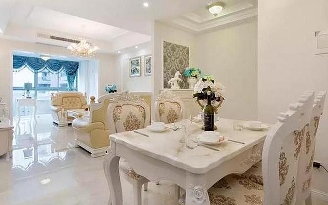 85㎡欧式风格装修设计 利用家具搭配打造奢华家居