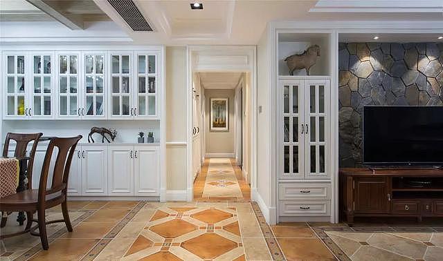 142㎡四居室美式风装修 打造高贵典雅大户型家居